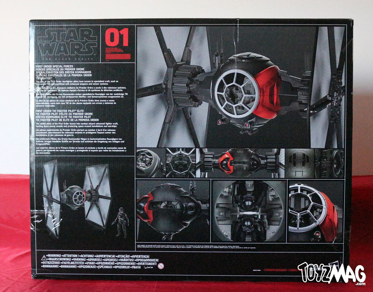 toyzmag 187 review 1st order special forces tie
