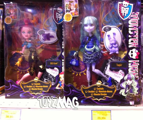 Monster high 13 wishes et lab partners chez - 13 souhait monster high ...