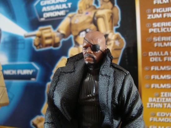 Nick Fury, director of SHIELD