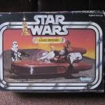 Star Wars landspeeder en boîte vintage cette année !