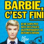 Ken largue Barbie ! ou comment l'industrie du jouet participe à la déforestation