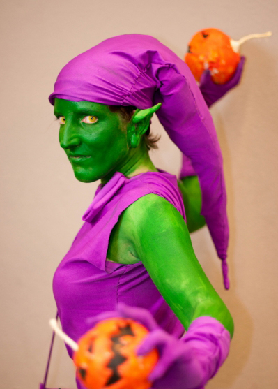 green goblin Cosplay Sci-Fi Show