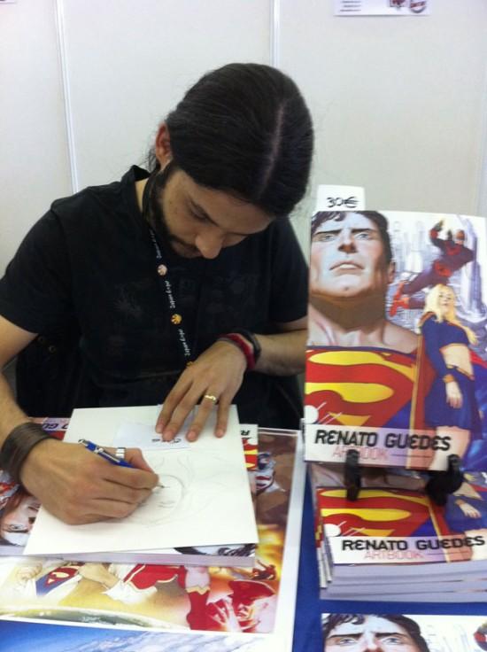 renato guedes comic con 2011