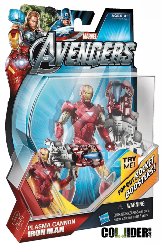 The Avengers The Movie toy packaging
