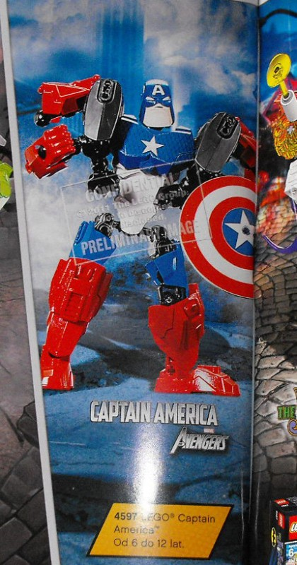Captain America  LEGO SUPER HEROS