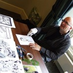 Gary Erskine en dédicace au Paris Manga & Sci-Fi Show