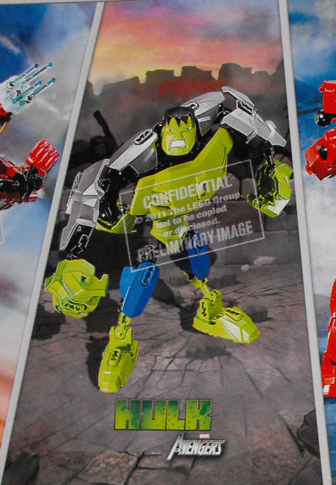 Hulk LEGO SUPER HEROS