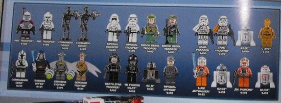 Mini fig star wars lego