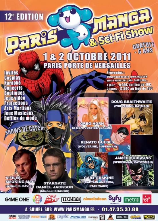 Concours Gagnez un place pour les Paris Manga & Sci-Fi Show