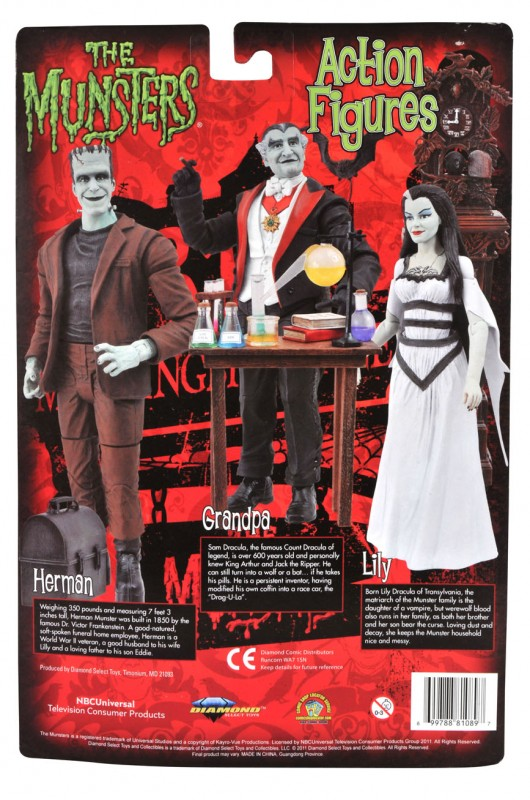 The munsters cardback