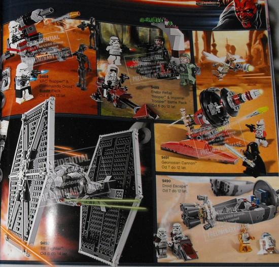 lego Star Wars 2012 TIE
