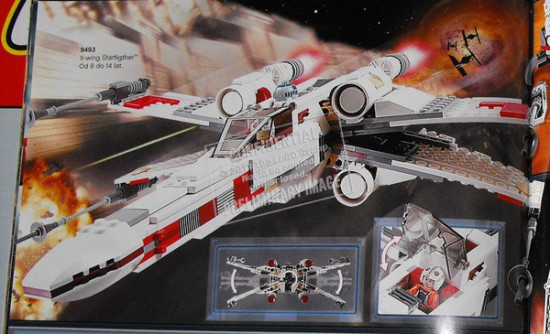 X-Wing lego STAR WARS 2012