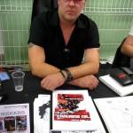 James Hodgkins en dédicace au Paris Manga & Sci-Fi Show