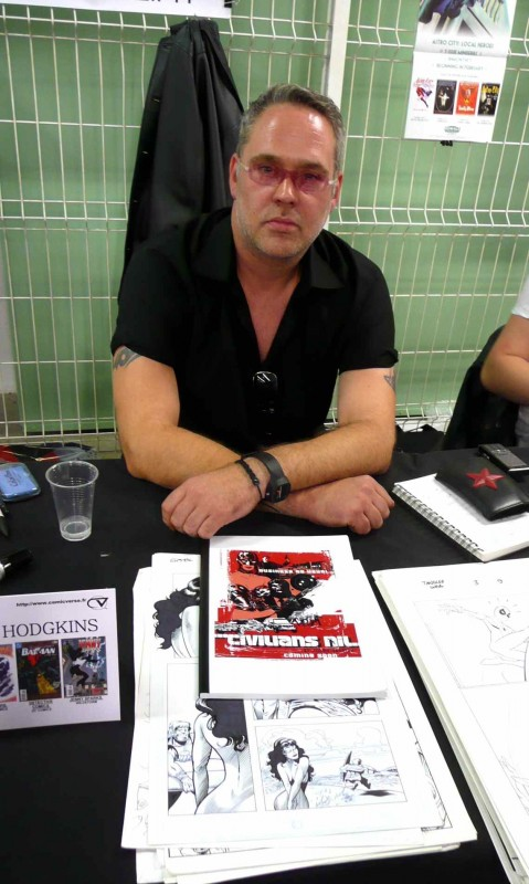 James Hadkins Paris Manga