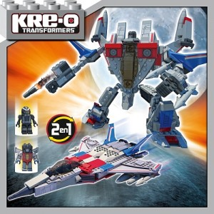 Review - Transformers - Kre-O - Starscream