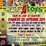RécréAtoys le Salon du jouet vintage le 25 septembre 2011