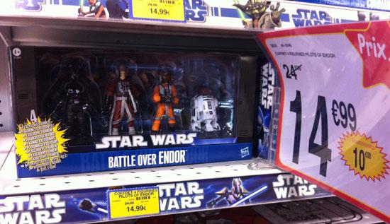 Star Wars Battle  Over Endor Europe TOYS R US
