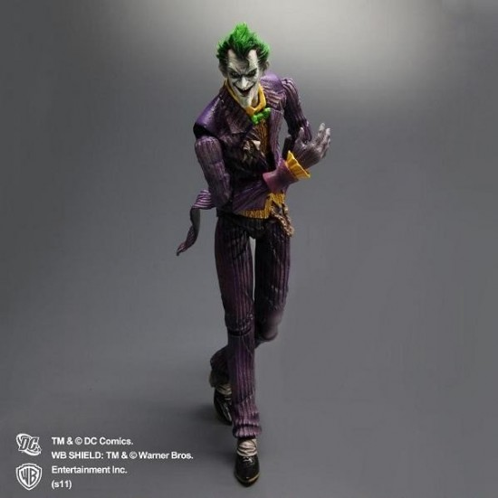 Batman Arkham Asylum Play Arts Kai