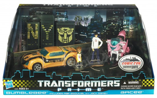 transfomers Prime NYCC