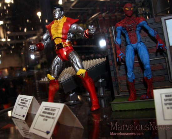 Marvel Select Spider man the movie 2012 NYCC 2011