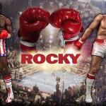 Neca monte sur le ring avec ROCKY