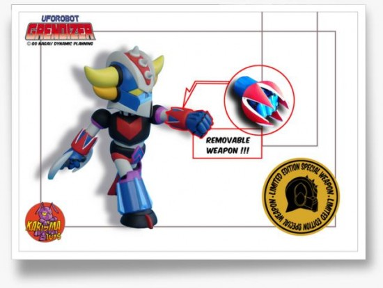 Grendizer Baby SD Limited Edition Special Weapon en 700 exemplaires