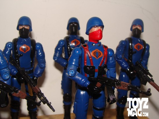 cobra infantry troopers 6pack armés