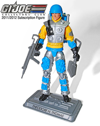 Bomb Disposal Expert la nouvelle figurine du G.I. Joe Collector Club