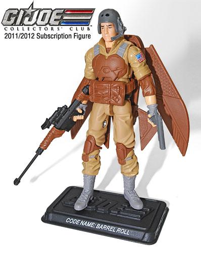 G.I. Joe Collector Club barrel roll Hasbro