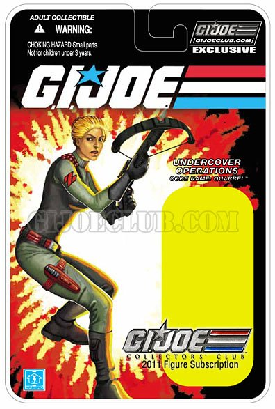 quarrel carte gijoe club hasbro