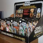 Une boîte complète des 12 premières figurines Star Wars de 1977 sur ebay !