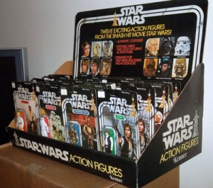 Vintage Star Wars Store Display