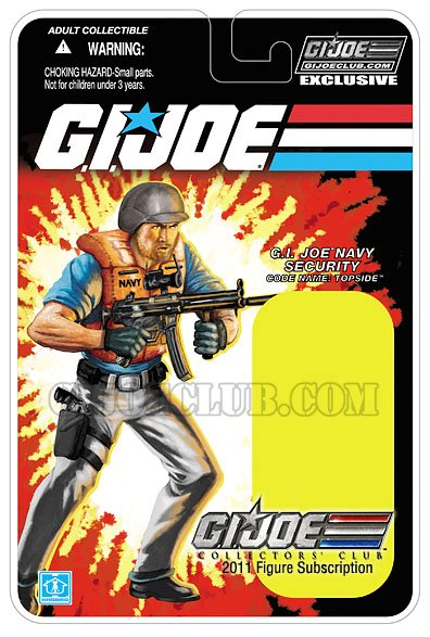 gi jeo collector club topside card carte hasbro