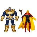 Thanos et Warlock dans un comic pack unique