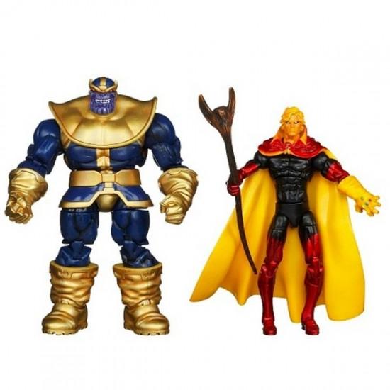 Marvel universe Hasbro pack Thanos Warlock