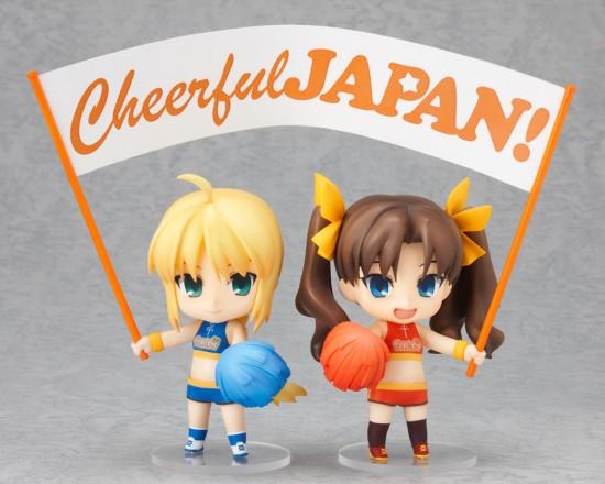 Nendoroid Saber Rin Tohsaka  Cheerful ver