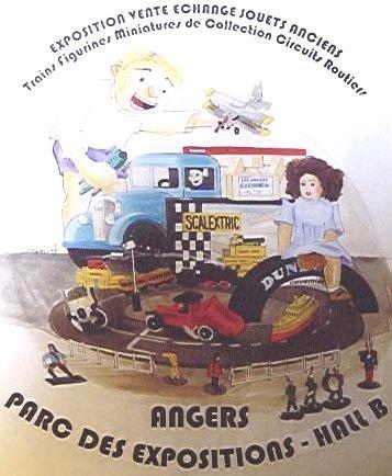 Bourse d'echanges de miniatures de collection trains et jouets anciens