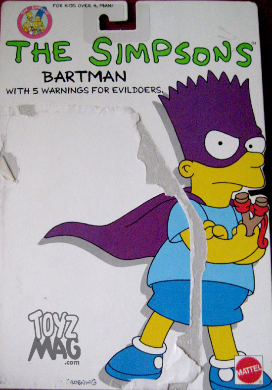 bartman simpsons mattel 01