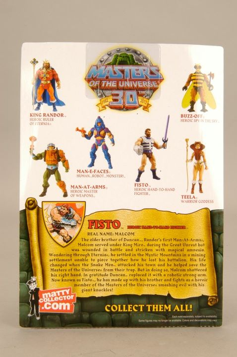 fisto motuc Mattel masters of the universe classiques Maitres de l'univers classique