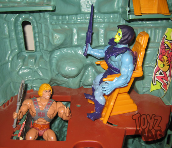 Le château des Ombres 1981 Mattel les maîtres de l'univers MOTU