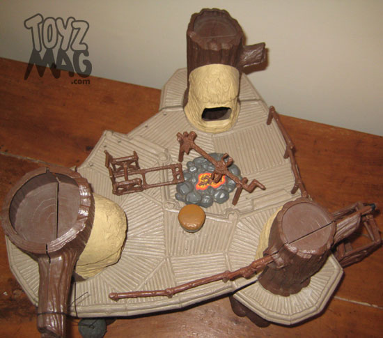 star wars ROTJ Le village des Ewoks Kenner 1984