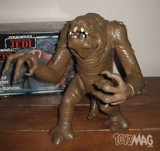 star wars Kenner 1984 ROTJ Trilogo RANCOR