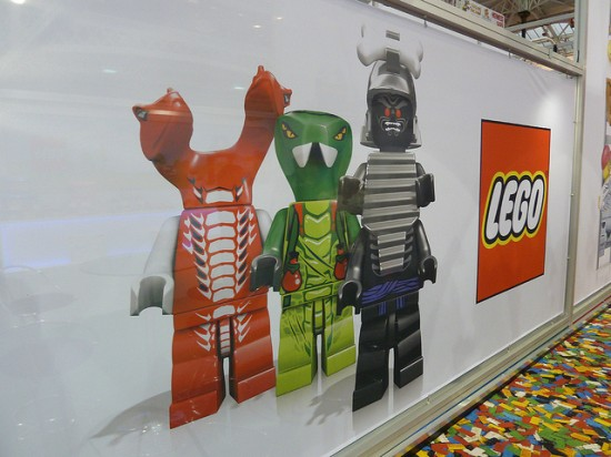 LONDON TOY FAIR LEGO  NINJA