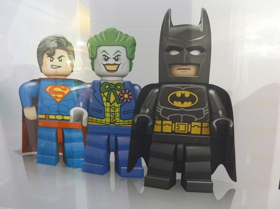 LONDON TOY FAIR LEGO  BATMAN