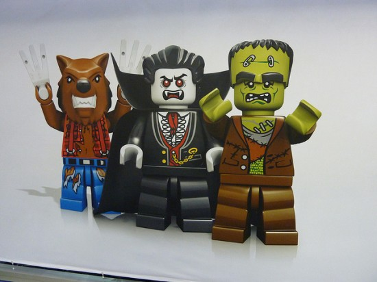 LONDON TOY FAIR LEGO  munsters