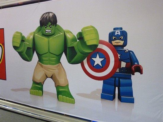 LONDON TOY FAIR LEGO THE AVENGERS