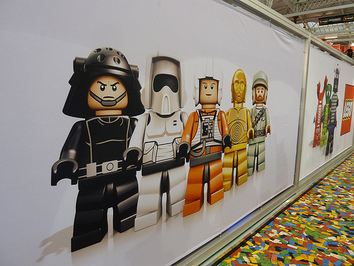 LONDON TOY FAIR LEGO  STAR WARS