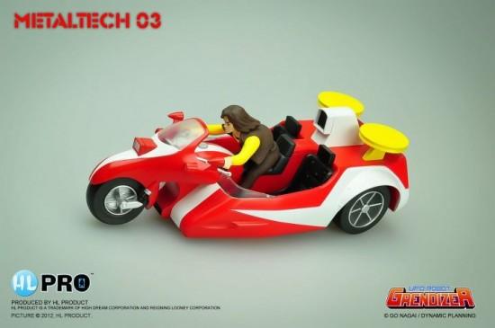 Metaltech 03 - Die cast Duke Fleed's Buggy HIGH DREAM HL PRO