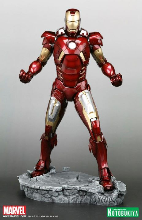 The Avengers Movie Iron Man Mark VII ARTFX Statue kotobukiya