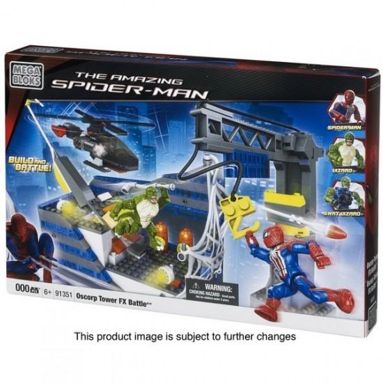 spider-man mega-bloks swat lizard